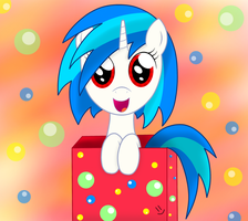 Vinyl in the box by megaman174