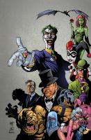 Batman Rogues Gallery by roncolors