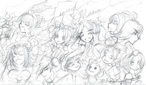 Legend of Mana sketch by Skuldchan