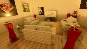 My Living Room 1 by DaveDrumstick