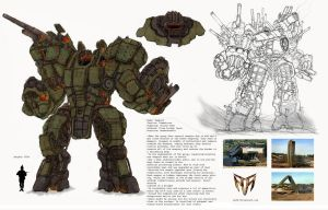 Project Combaticons: Rampart by Ra88