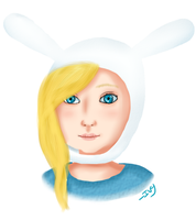 Fionna the Human realism by Ivy-Desu