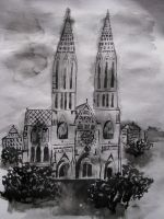 Gothic Church by Indene