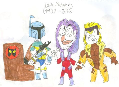 Don Francks Tribute by SithVampireMaster27