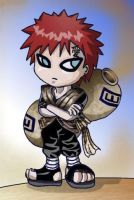 chibi Gaara by Evolvana