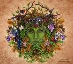 The Greenman by brigidashwood