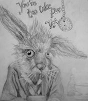 March Hare-you're too late.. by erdnuss-baum