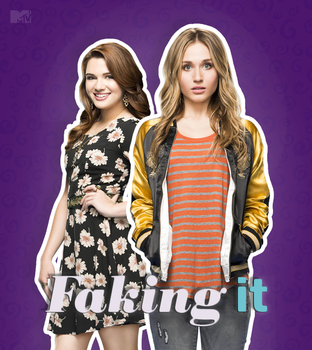 Faking It: MTV Series Poster by tardisplus