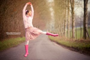 Pink Ballerina - Jump 62 by escaped-emotions