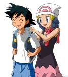 Ash and Dawn 1 by tcwoua