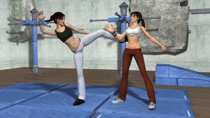 Lara - Doppelganger Training 1 by silviu4mc