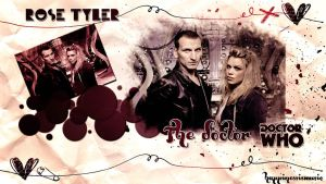The nineth Doctor and Rose Tyler by HappinessIsMusic