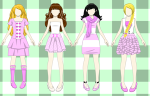 Pink Outfits for Sale by Kawaii-Adopts1