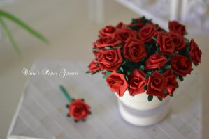 Roses by cridiana