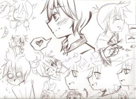 Len Doodles everywhere by BLEEDFan95