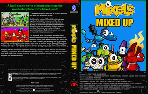 Mixels Mixed-Up Special VHS Cover by TheYoshiState