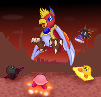 Dyna Blade's Event Attack by pikmin789