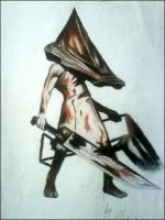 Pyramid Head Silent Hill by CocoDeathMetaller