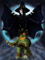 Shinigami And Mikey by ALStanford