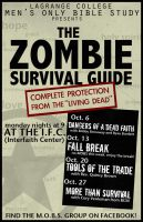 Bible Study Zombie Poster by Treybacca