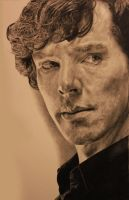 Sherlock Drawing by Lewis3222