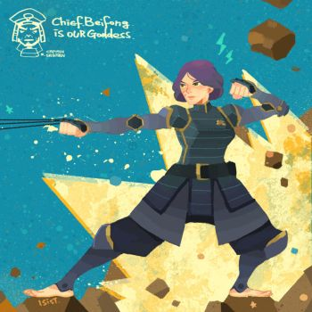 Chief beifong by freestarisis
