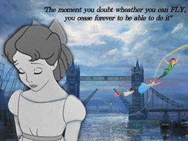 Really Sad Peter Pan Quote by JessiPan