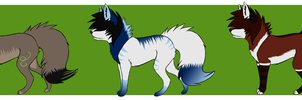 Name Your Price - Scene Dogs by Bottled-Rottweiler