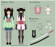 AC - Chiharu Reference Sheet by theRainbowOverlord