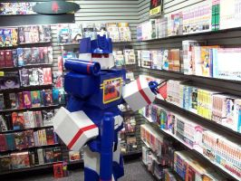 Soundwave the Otaku by Raggletag