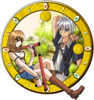 Rave Master - Late Afternoon by pnayshoujo69
