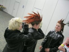 Axel's Hair Fell OfforOut D: by SOUL-Catchers