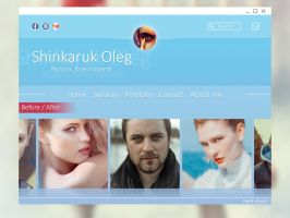 Layout for my site by Shinkaruk