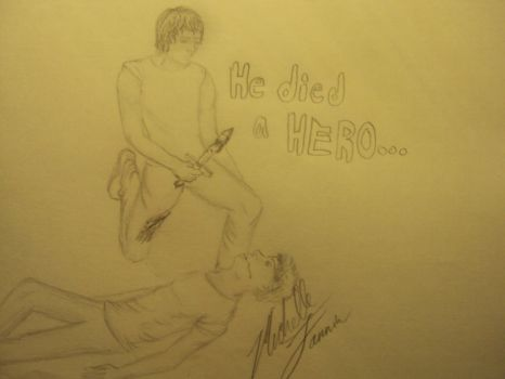He died a HERO.. by StormyXDcupcake