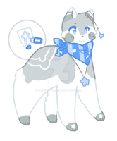 Blue Star Markers Bubbletail Auction CLOSED by raikukitti