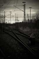 waiting for the train - I by Frall