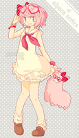 a: heart-glasses alpaca! [closed] by pepaaminto