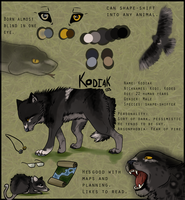 Kodiak Reference by Forever-Wolfy