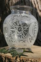 Beltane Jar by LittleSalem