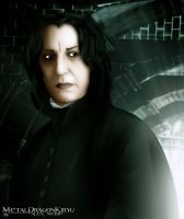 Severus Snape by OrbitalWings