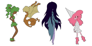 Adventure Time adopts set 1 by SmilesUpsideDown