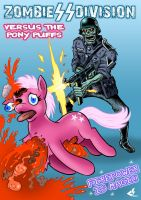 Nazi Zombies vs Ponies by curtsibling