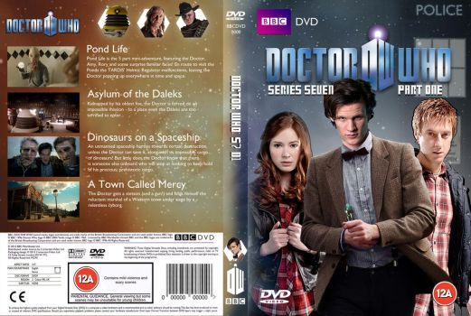 Doctor Who S7P1 DVD Cover (Custom) by OliverGeary