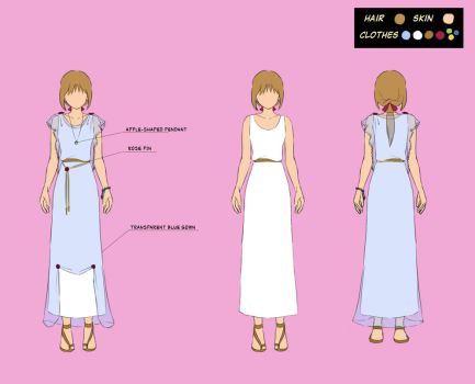 Spring dress by dottypurrs