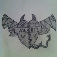 Naughty Heart by PanheadBrittany