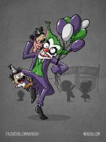 Birthday Clown by WirdouDesigns