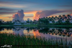 Tower-from-Lake-Port-St.-Lucie-Tradition by CaptainKimo