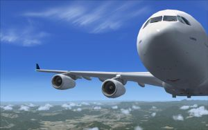 FSX AIRBUS A340 by julsscorp
