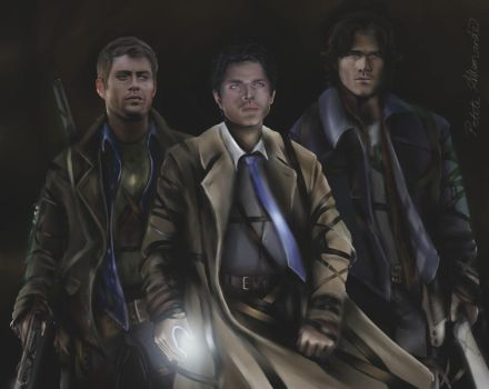 Team Free Will by PetiteAllemande