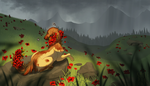 [com] poppies by smokeplanet